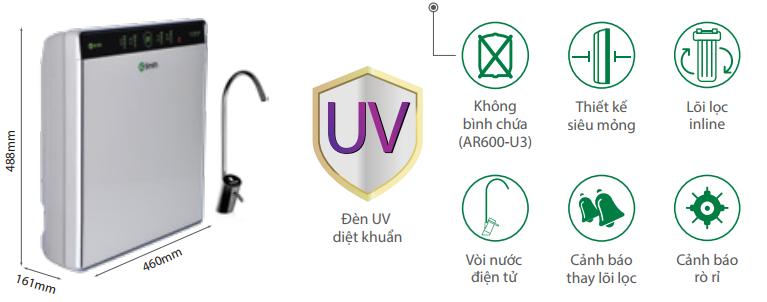 Aosmith UV AR600 - U3